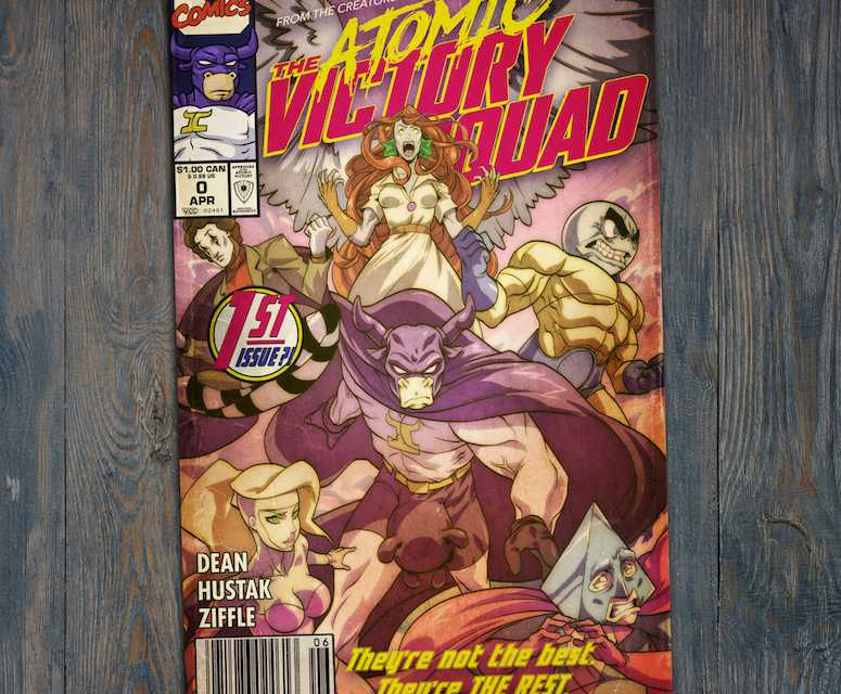 "Interview: ""WolfCop"" Creator Lowell Dean Talks New ""Atomic Victory Squad"" Comic"