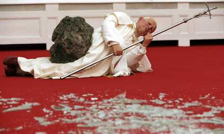 "Exclusive: 'Maurizio Cattelan: Be Right Back' ""Pope"" Clip Is Artfully Mad"
