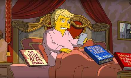 Donald Trump First 100 Days Gets Spoofed By 'The Simpsons'