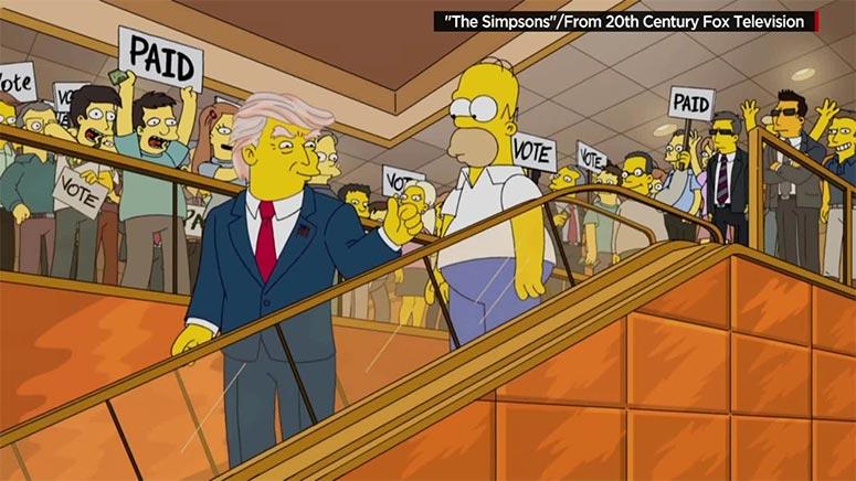 The-Simpsons-Donald-Trump-Escalator