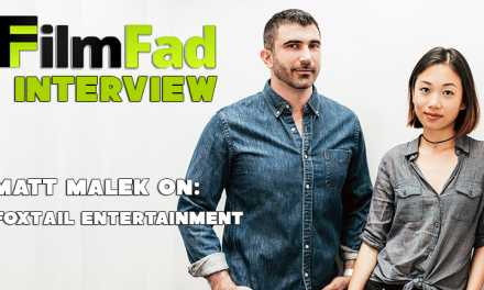 Foxtail Entertainment's Matthew Malek Wants To Bring Meaning Back To Movies