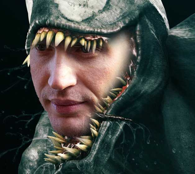 Tom Hardy Is Venom In Sony's Spider-Man Spinoff