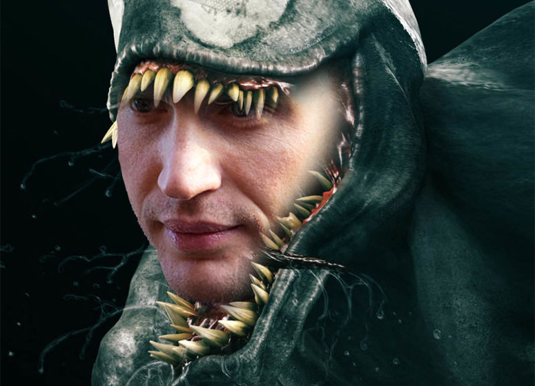 Tom Hardy Is Venom In Sony S Spider Man Spinoff Filmfad Com