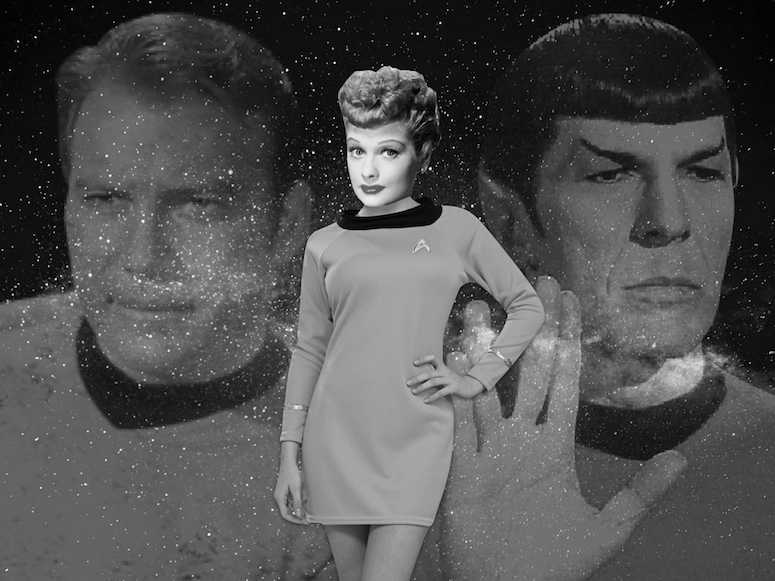 Did Lucille Ball Save Star Trek - I love lucy
