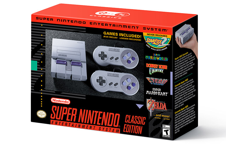 Super Nintendo Classic Mini Debuts With Epic Game List