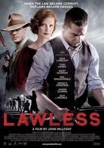 Lawless Movie Poster Shia Labeouf
