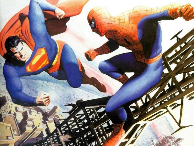 superman-vs-spider-man