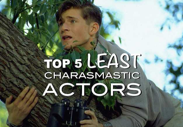 Top 5 Least Charismatic A-List Hollywood Actors