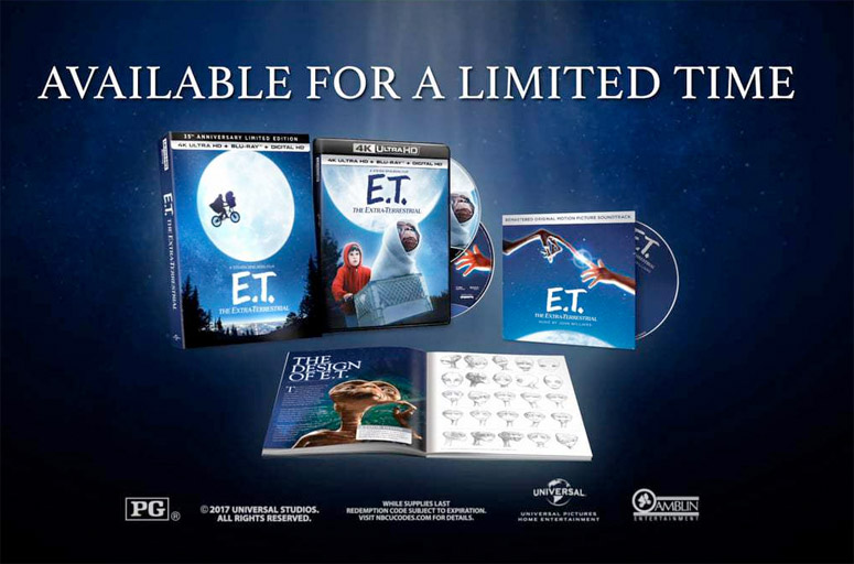 Contest: 'E.T. The Extra-Terrestrial' 4K Giveaway