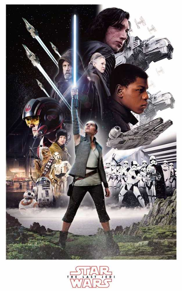 'Star Wars The Last Jedi' Poster Arrives Force Friday
