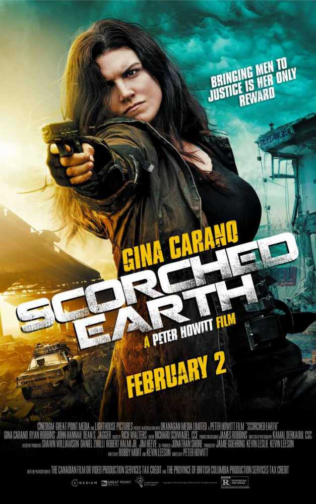 "New Poster and Trailer for ""Scorched Earth"" Starring Gina Carano and John Hannah"