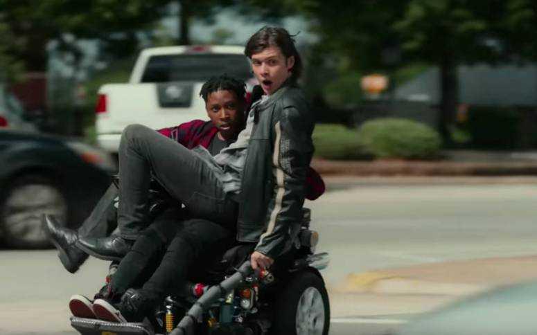 Krystal Nick Robinson Rosario Dawson Grant Gustin Trailer